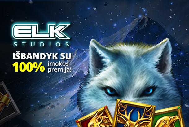 ELK Studios atvyko!