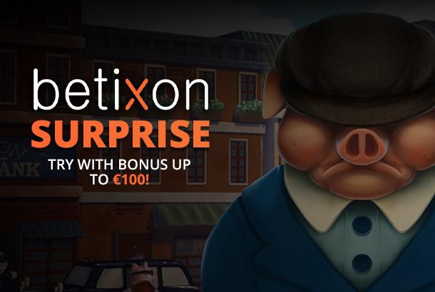 100% deposit bonus!