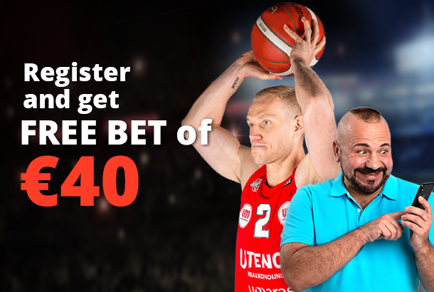 €40 Free Bet