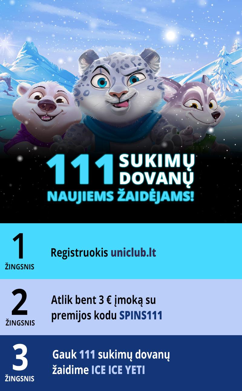 111 sukimų  dovanų