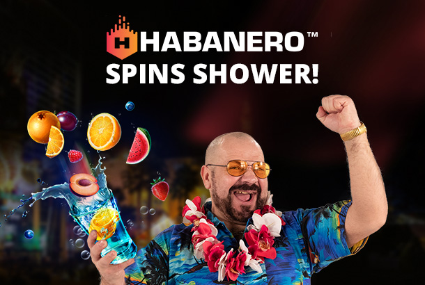 Habanero Spins Shower