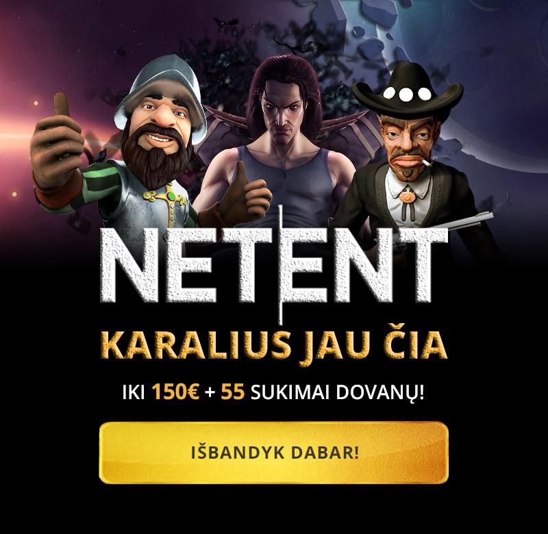 Karalius NET|ENT atvyko