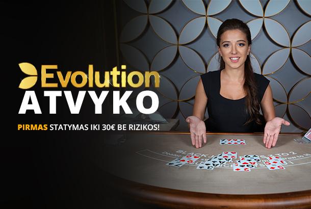 Evolution atvyko!