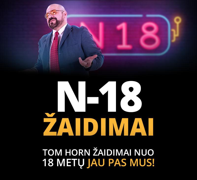 N-18  ŽAIDIMAI